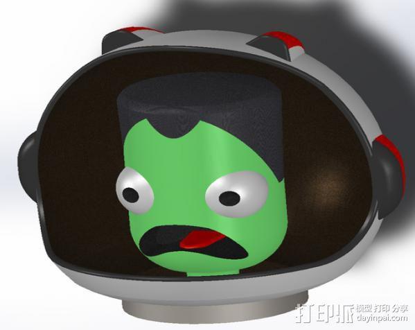 游戏《坎巴拉太空计划》玩偶 3D模型  图2