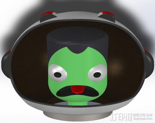 游戏《坎巴拉太空计划》玩偶 3D模型  图3