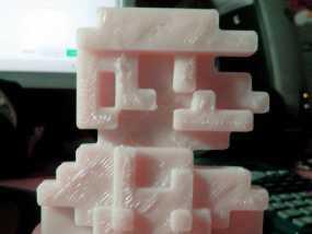 8bits 马里奥 3D模型