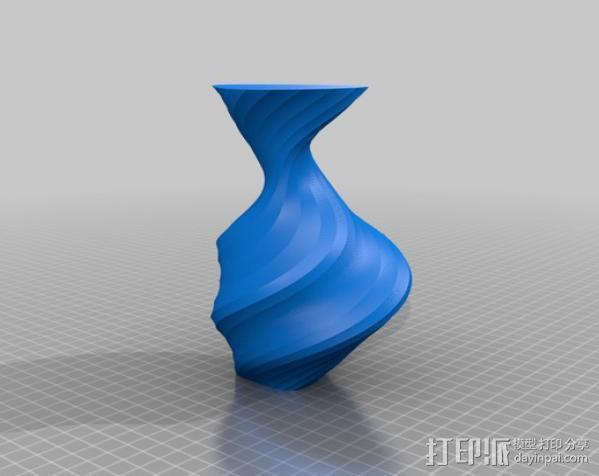 螺旋花瓶 3D模型  图6