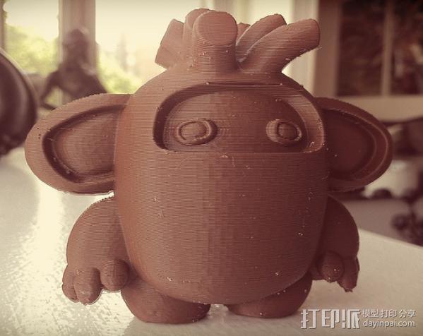 luxGob 玩偶 3D模型  图2