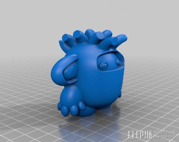 luxGob 玩偶 3D模型  图3