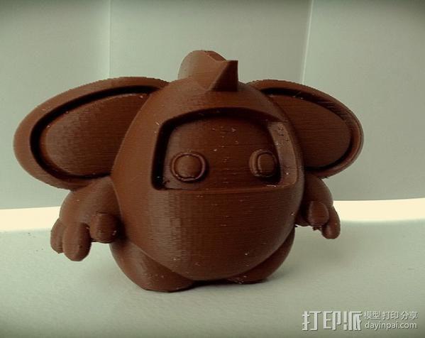 luxLin玩偶 3D模型  图2