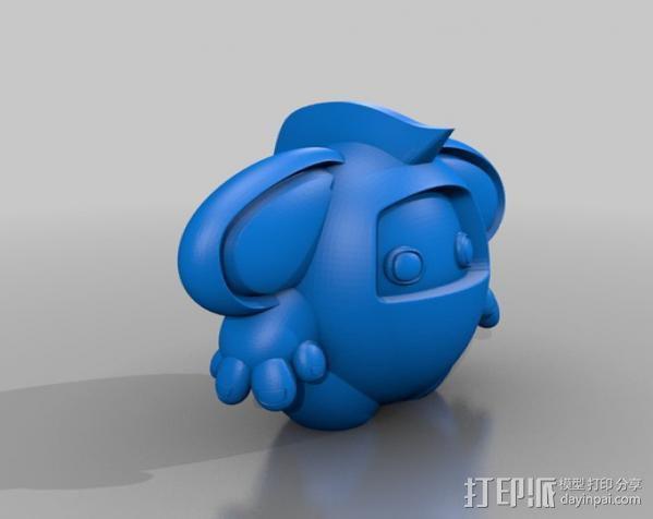 luxLin玩偶 3D模型  图3