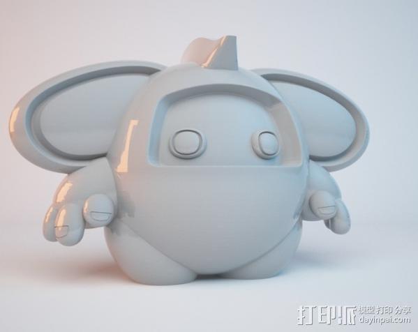 luxLin玩偶 3D模型  图4