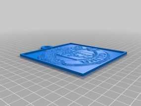 曼彻斯特联足球俱乐部 浮雕 3D模型
