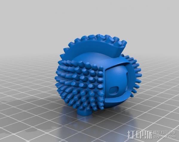 luxEmber02玩偶 3D模型  图3