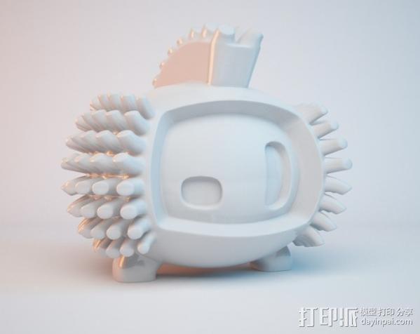 luxEmber02玩偶 3D模型  图4