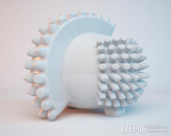 luxEmber02玩偶 3D模型  图6