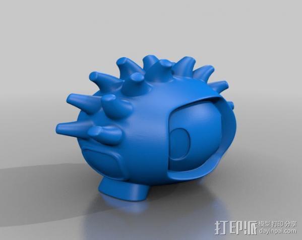 luxEmber01玩偶 3D模型  图3
