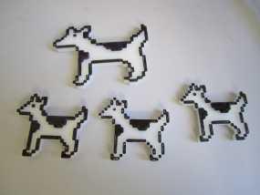 斑点狗 3D模型