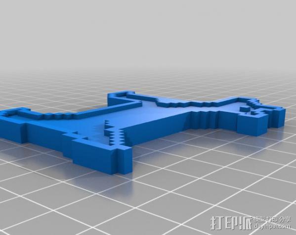 斑点狗 3D模型  图2
