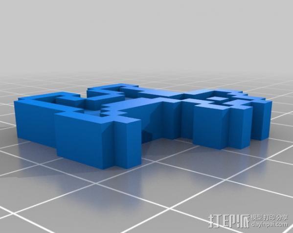 斑点狗 3D模型  图3