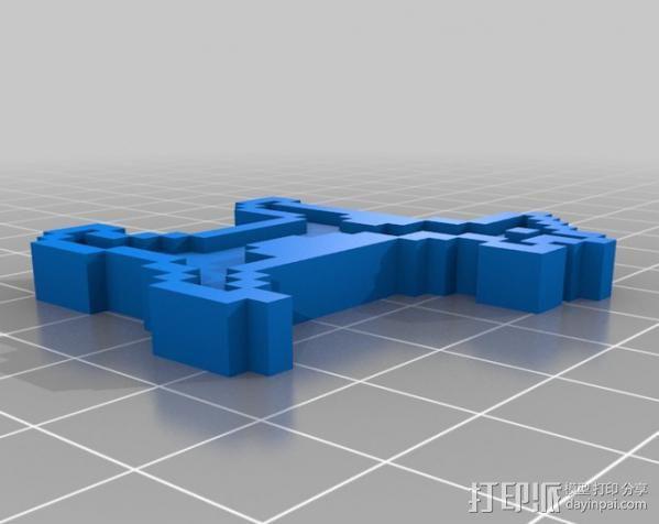 斑点狗 3D模型  图4
