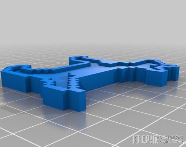斑点狗 3D模型  图5
