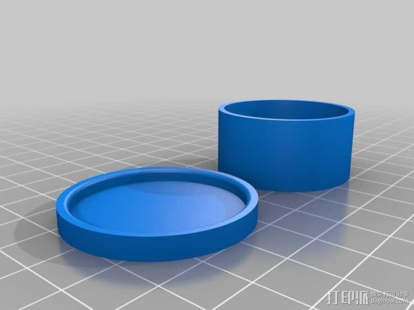 波士顿箱 3D模型  图3