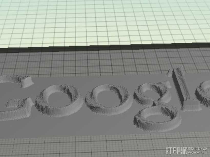 谷歌 标签 3D模型  图2