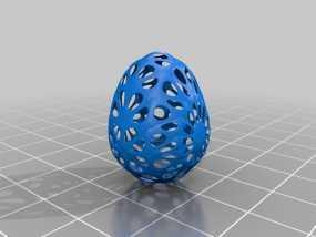 参数化复活节彩蛋 3D模型