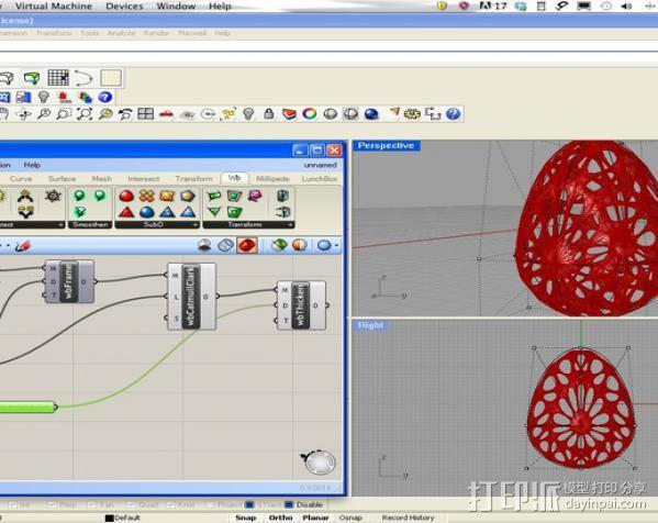 参数化复活节彩蛋 3D模型  图2