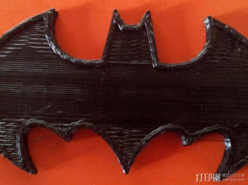 蝙蝠侠 冰箱贴 3D模型  图1