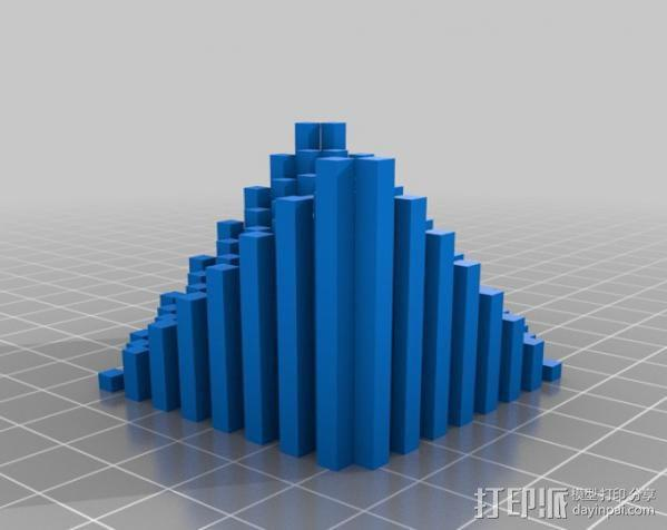 离散双曲抛物面 3D模型  图5