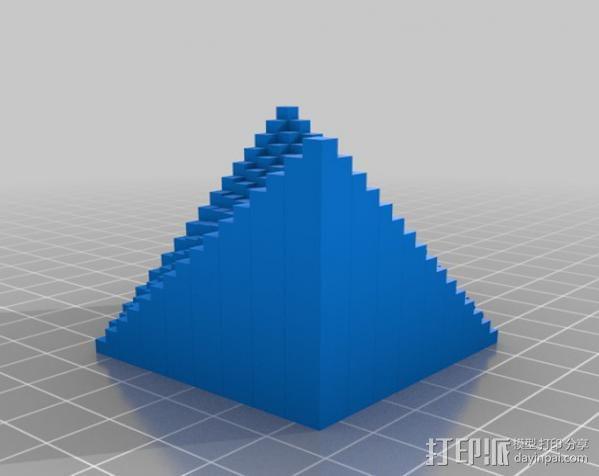 离散双曲抛物面 3D模型  图4