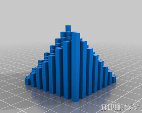 离散双曲抛物面 3D模型  图6