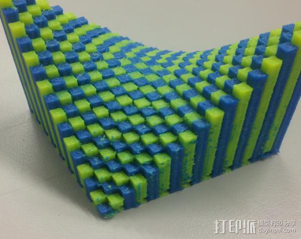 离散双曲抛物面 3D模型  图9