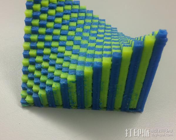 离散双曲抛物面 3D模型  图10
