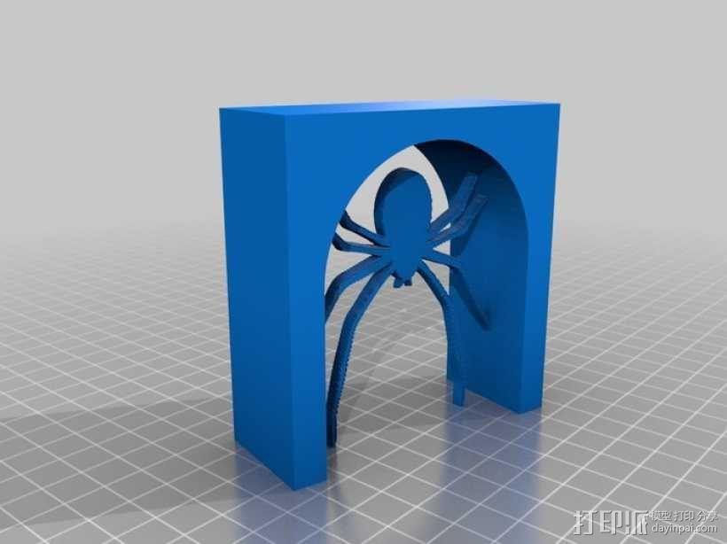 蜘蛛 拱门 3D模型  图1