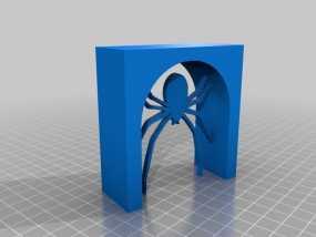 蜘蛛 拱门 3D模型