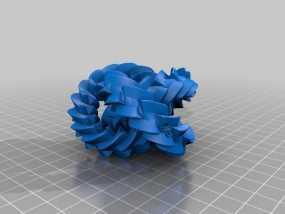 三联齿轮  3D模型