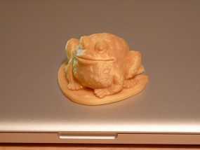 睡莲叶子上的蟾蜍 3D模型