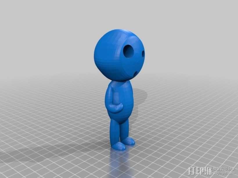 木灵  3D模型  图1