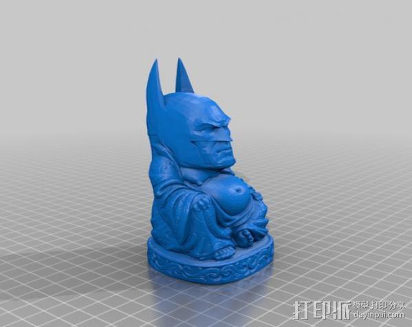 蝙蝠侠 佛陀 3D模型  图3