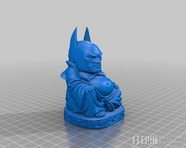 蝙蝠侠 佛陀 3D模型  图4