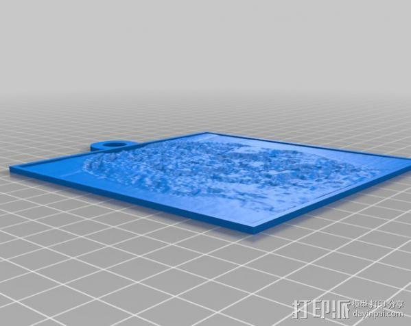僵尸 浮雕 3D模型  图2