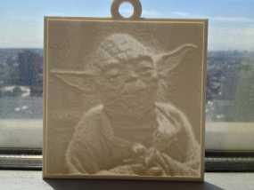 尤达大师 浮雕 3D模型