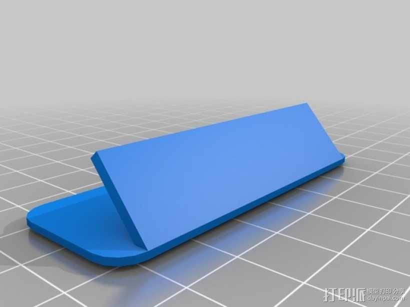 定制化胸牌 3D模型  图2