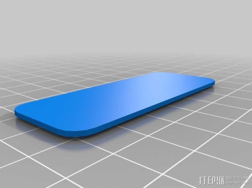 定制化胸牌 3D模型  图6