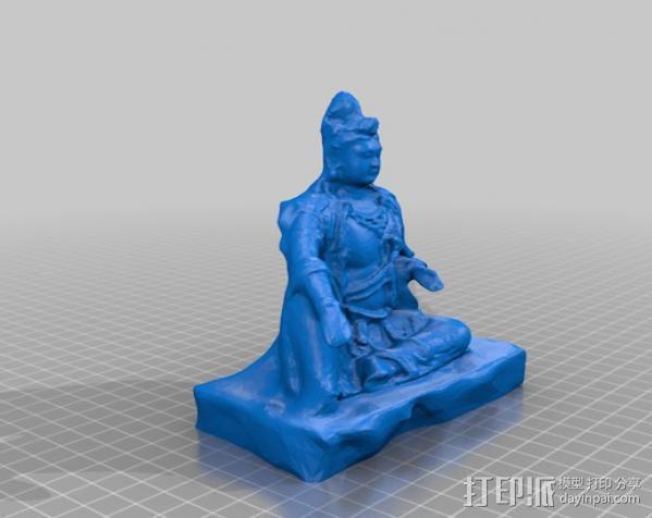 观世菩萨  3D模型  图2