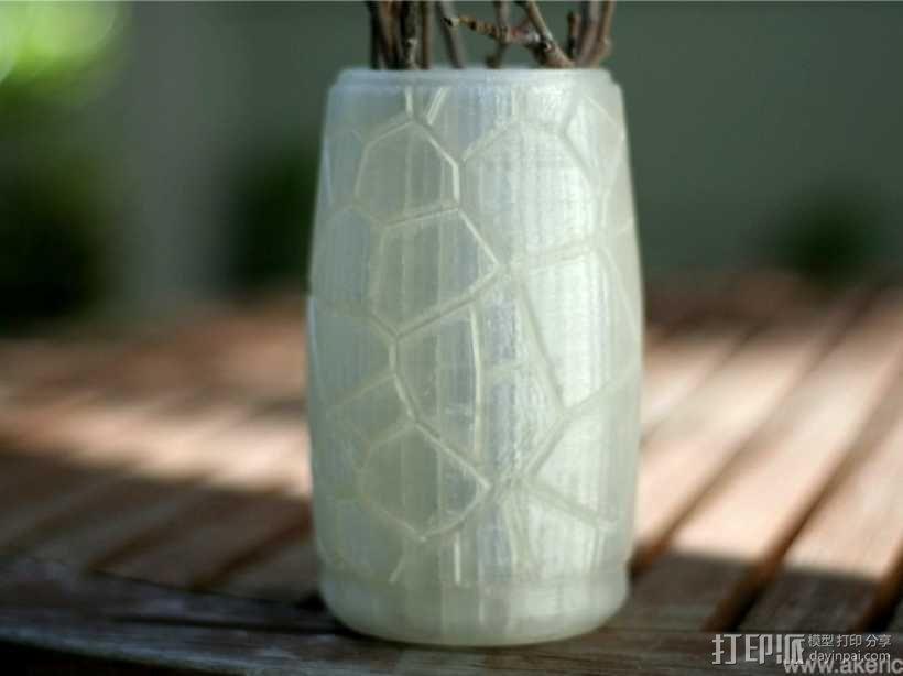 花瓶B01 3D模型  图4
