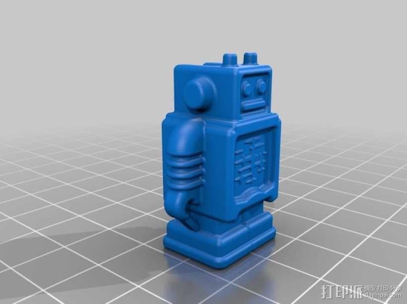 cura机器人 3D模型  图1