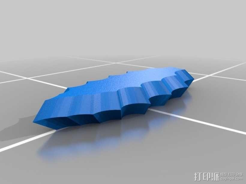 打火石 3D模型  图1