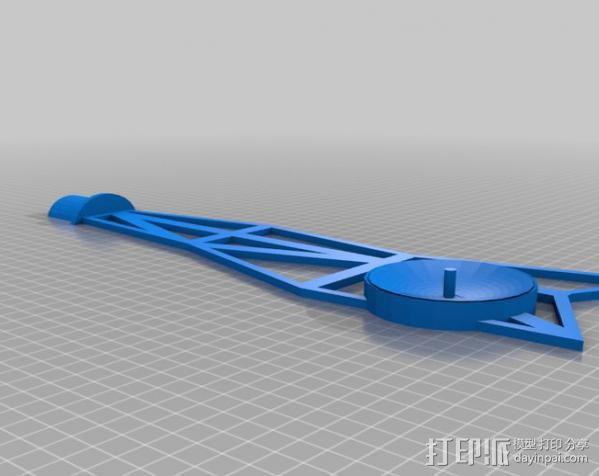 水手4号探测器 3D模型  图4