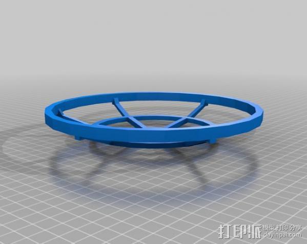 水手4号探测器 3D模型  图3