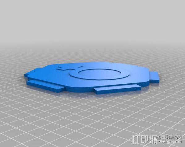 水手4号探测器 3D模型  图2