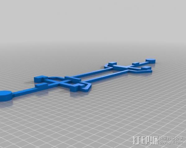水手4号探测器 3D模型  图6