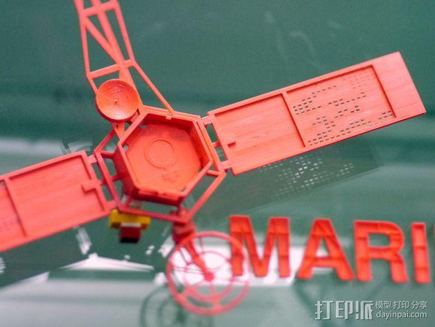 水手4号探测器 3D模型  图9