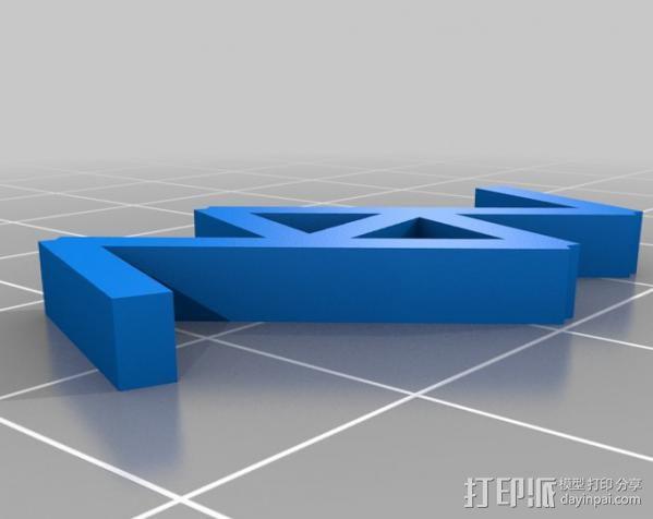 分形图形 龙  3D模型  图4